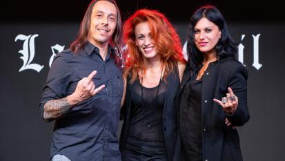 Lacuna Coil: guarda le foto dell'intervista con Alteria in occasione dell'uscita del nuovo album Black Anima