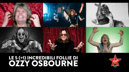 Le 5 (+1) incredibili follie di Ozzy Osbourne