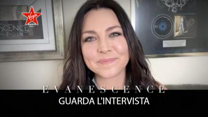 Evanescence: guarda l'intervista con Amy Lee