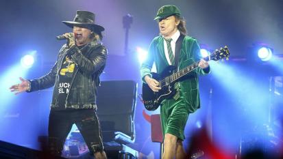 """AC/DC, Angus Young: """"Non è vero, non abbiamo mai composto o registrato canzoni con Axl Rose"""""""