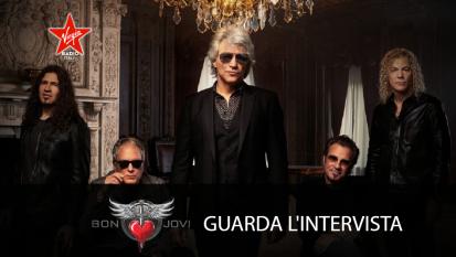 Bon Jovi: guarda l'intervista con Giulia Salvi
