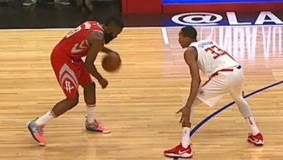 NBA: Il divertentissimo numero di James Harden nella tripla contro i L.A. Clippers!
