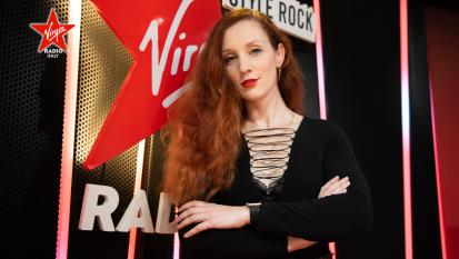 Guarda le foto di Giulia Salvi nel nuovo studio di Virgin Radio