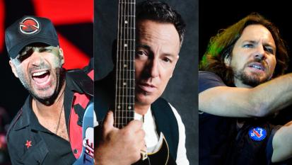 """Tom Morello, Bruce Springsteen ed Eddie Vedder insieme in una nuova versione di Highway To Hell: """"È un omaggio agli AC/DC"""""""