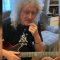 Coronavirus, Brian May insegna in streaming ai fan in quarantena come suonare l'assolo di Bohemian Rhapsody