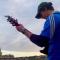 Coronavirus, il ragazzo che suona Morricone con la chitarra elettrica sopra Piazza Navona deserta: il video è da brividi