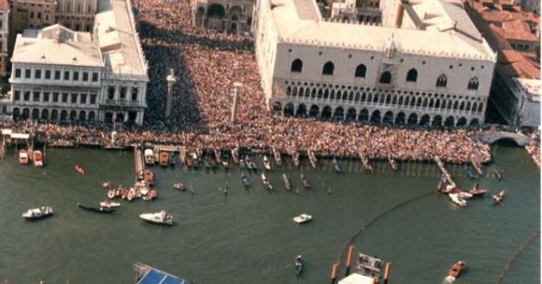 Pink Floyd Le Foto Del Concerto Di Venezia Del 15 Luglio