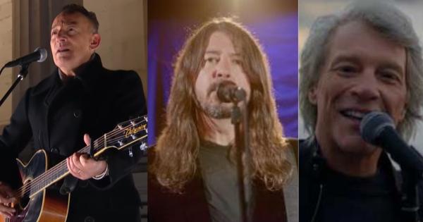 Da Bruce Springsteen al Memoriale di Lincoln ai Foo Fighters e Jon Bon Jovi: le performance per l'insediamento di Joe Biden