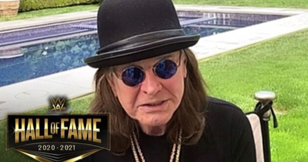 Ozzy Osbourne è entrato a far parte della WWE Hall Of Fame! Guarda il video