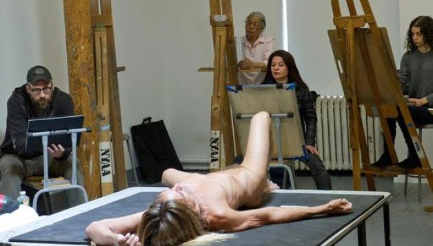 nudo Virgina foto