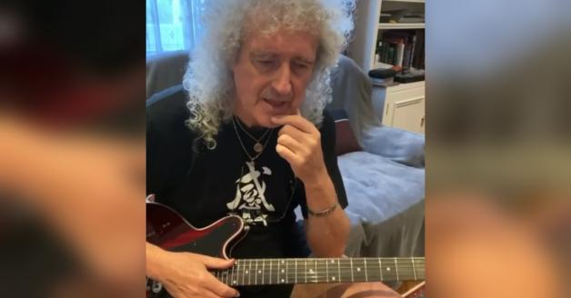 Coronavirus, Brian May insegna in streaming ai fan in quarantena come suonare l'assolo di Bohemian Rhapsody