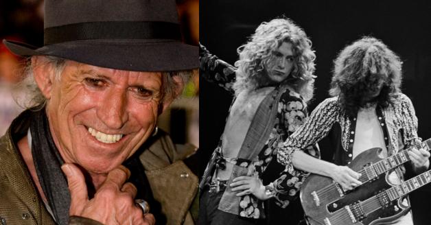 """The Rolling Stones, Keith Richards: """"ecco cosa ho sempre odiato dei Led Zeppelin"""""""