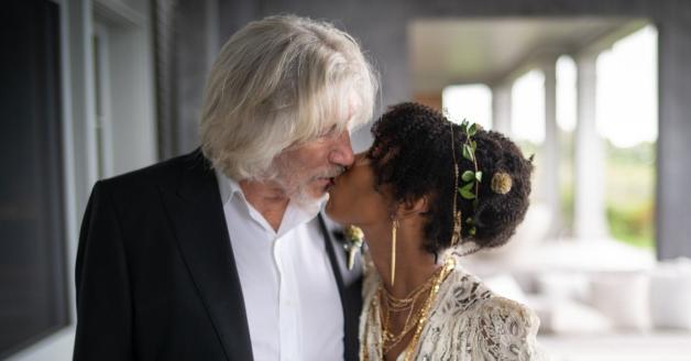Roger Waters si è sposato (per la quinta volta)! Guarda l'annuncio con le foto pubblicate