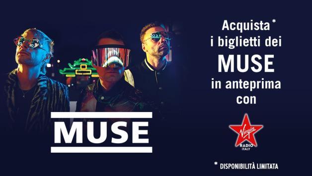 Muse: acquista i biglietti in anteprima per i live di Milano e Roma
