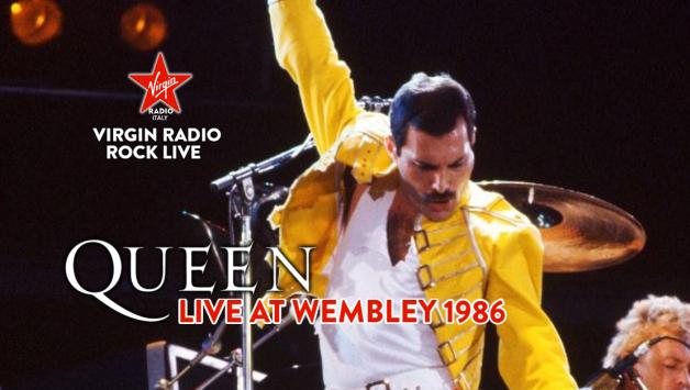 QUEEN - Live At Wembley 1986 - Virgin Radio Rock Live