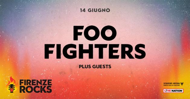 Foo Fighters Firenze Rocks 2018