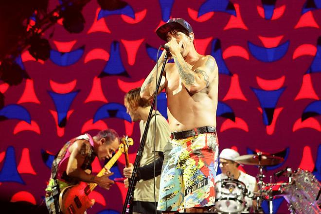 Red Hot Chili Peppers in concerto a Seoul in Corea del Sud