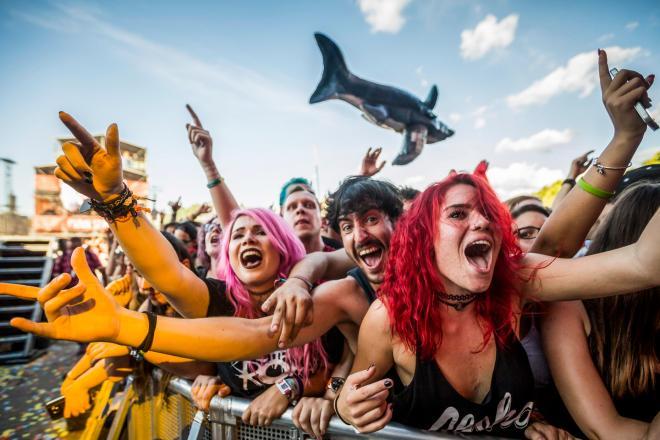 Facce da Sziget Festival +  Noel Gallagher, Kaiser Chiefs e Sum 41 live