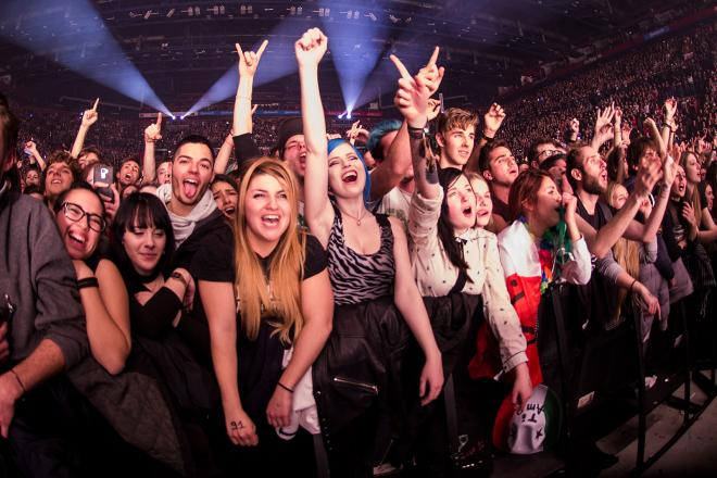 Green Day: le foto più belle del concerto a Milano