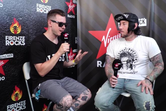 Firenze Rocks: guarda il video con l'intervista agli Avenged Sevenfold