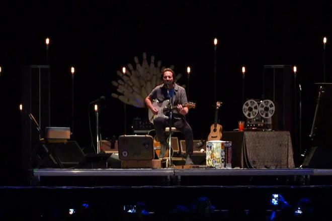 Firenze Rocks Eddie Vedder: guarda il video racconto della prima giornata!