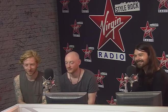 VIRGIN BIFFY CLYRO 09-09-2016