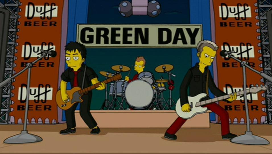 Quando i Green Day suonarono la sigla nel film dei Simpson. Guarda il video e la gallery con le immagini più belle