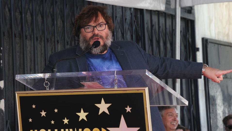 Jack Black: è stata inaugurata la sua 'stella' sulla Hollywood Walk Of Fame. Guarda le foto!