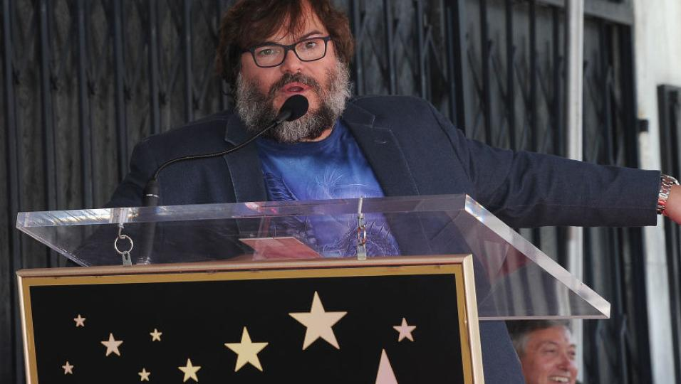 Jack Black: è stata inaugurata la sua 'stella' sulla Hollywood Walk Of Fame. Guarda le foto!