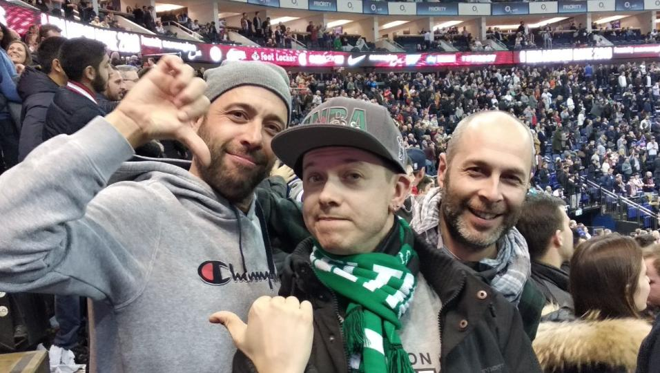 NBA London Game 2019: guarda le foto all'O2 di Londra con Andrea Rock e gli ascoltatori di Virgin Radio