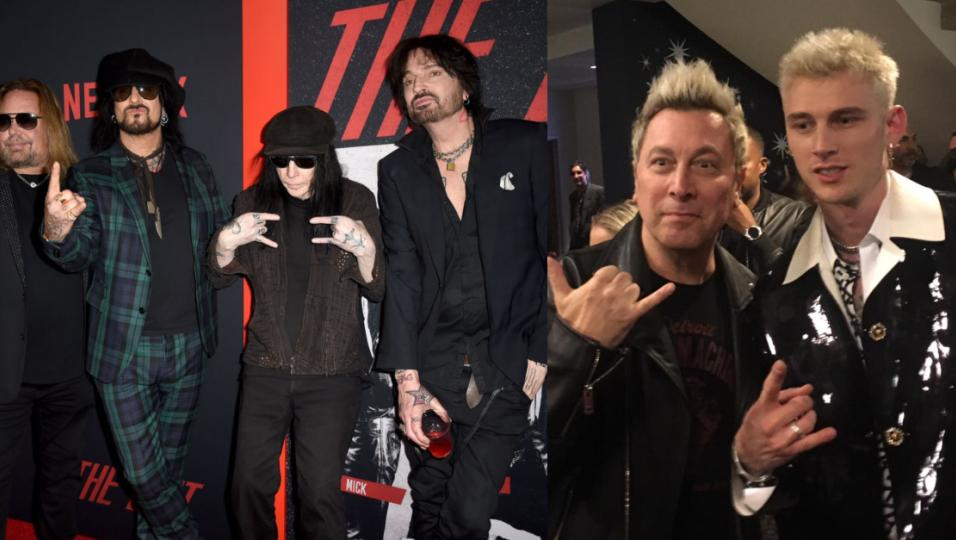 "Mötley Crüe: le foto dell'anteprima mondiale del film ""The Dirt"" a Los Angeles con Ringo! Guarda la gallery"
