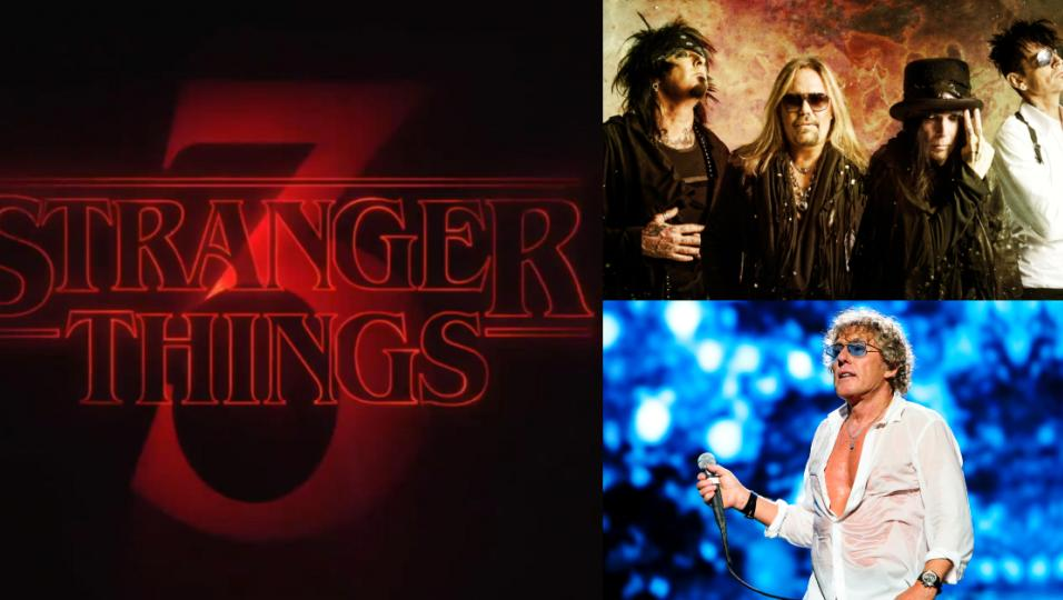 Mötley Crüe e The Who protagonisti del trailer della terza stagione di Stranger Things! Guardalo qui