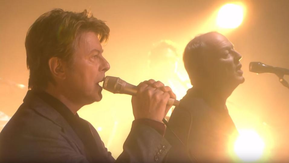 David Gilmour: pubblicate Arnold Layne e Comfortably Numb live con David Bowie! Una delle sue ultime performance. Guarda i video