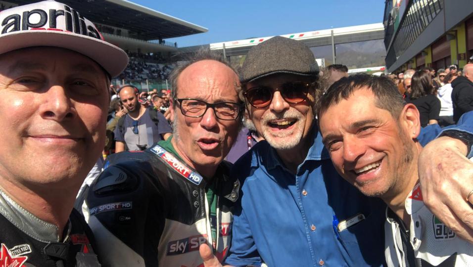 Aprilia All  Stars: guarda le foto più belle dell'evento al Mugello con Andrea Iannone, Max Biaggi, Loris Capirossi...