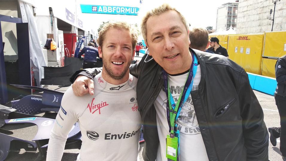 Formula E: guarda le foto scattate con l'Envision Virgin Racing Team a Roma