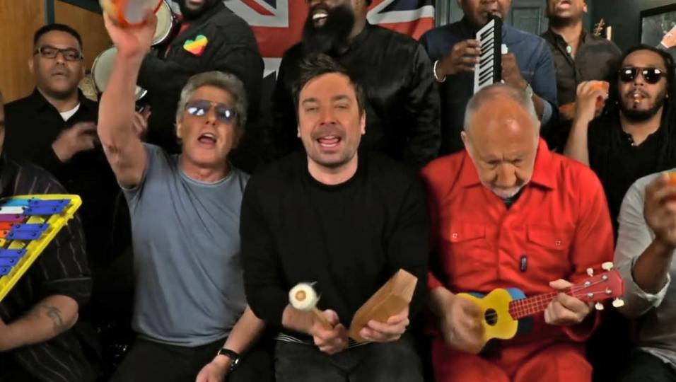 Gli Who hanno suonato Won't Get Fooled Again con gli strumenti per bambini da Jimmy Fallon! Guarda il video