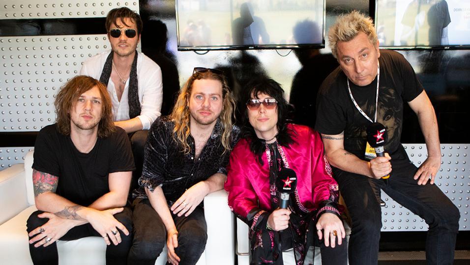 The Struts: guarda il video della band ospite della diretta di Revolver con Ringo