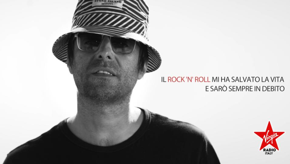Liam Gallagher è il nuovo Rock Ambassador di Virgin Radio. Guarda il suo messaggio