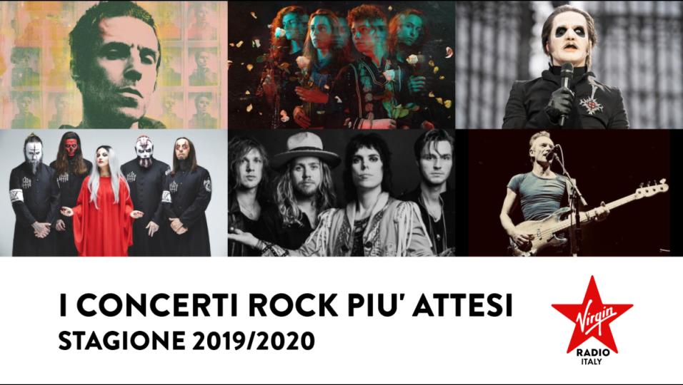 I concerti rock più attesi. Stagione 2019/2020