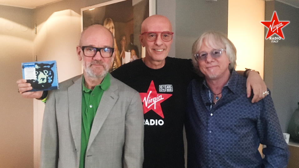 R.E.M.: guarda l'intervista integrale realizzata a Michael Stipe e Mike Mills da Massimo Cotto
