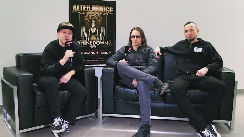 Alter Bridge: guarda l'intervista realizzata da Andrea Rock
