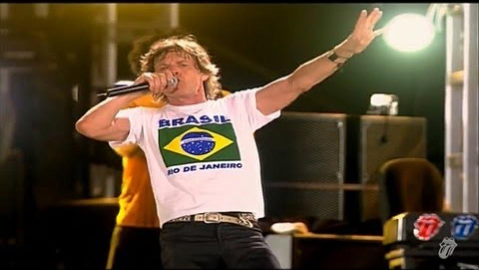 The Rolling Stones - (I Can't Get No) Satsfaction (Live on Copacabana Beach)