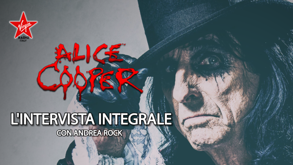 Alice Cooper: guarda l'intervista in live streaming realizzata da Andrea Rock