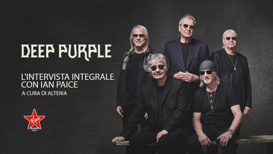 Deep Purple: guarda l'intervista integrale a Ian Paice realizzata da Alteria