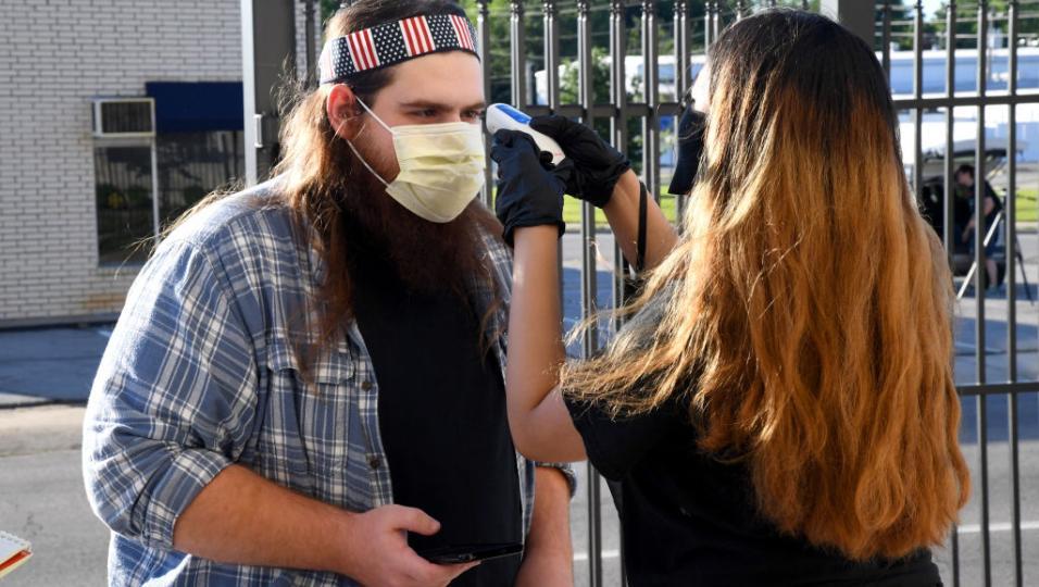 Coronavirus, testato negli USA un concerto con il distanziamento sociale. Ecco come funziona! Guarda le foto