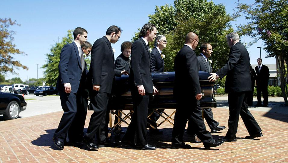 Johnny Cash: le foto del funerale di Man In Black