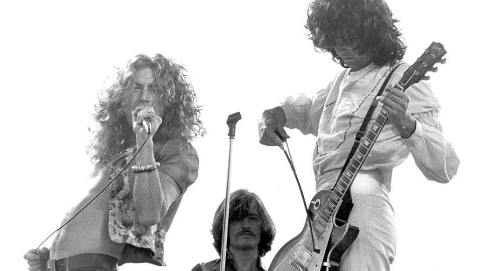 Led Zeppelin: guarda le foto più belle della band