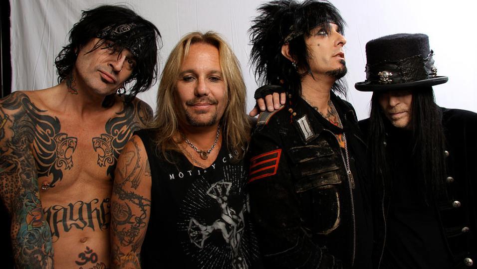 Mötley Crüe: guarda le foto più belle della band