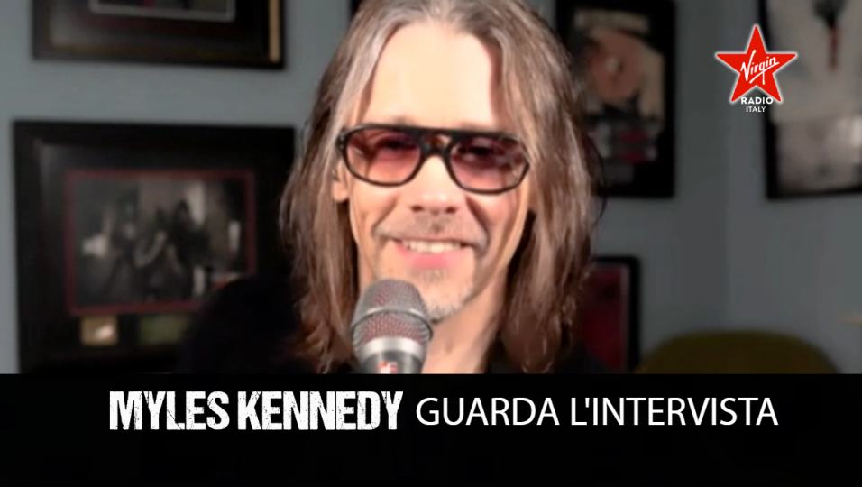 Myles Kennedy: guarda l'intervista in occasione dell'uscita di The Ides Of March