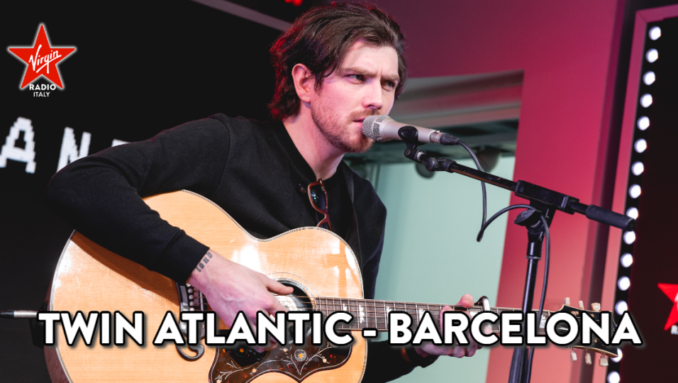 Twin Atlantic: guarda l'esibizione di Barcelona acustica sul palco di Virgin Radio